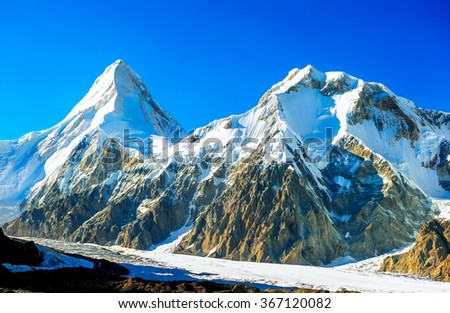 Everest Region of the Himalayas, Nepal - stock photo