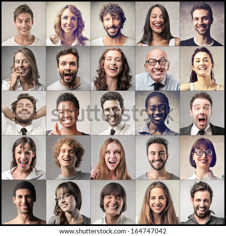 Everybody's Happy - stock photo