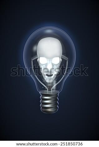 Evil idea - stock photo