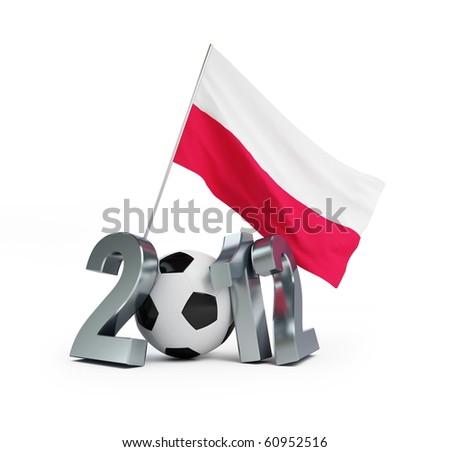 evro 2012 Poland - stock photo