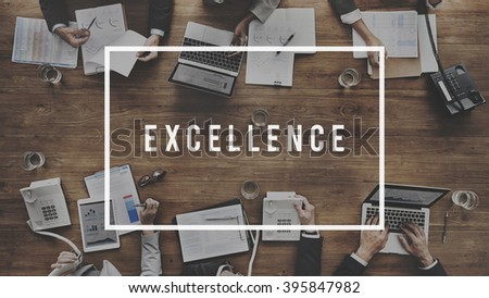 Excellence Ability Skills Expertise Concept - stock photo