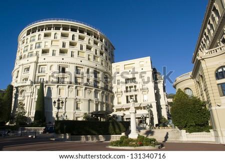Exceptional luxury Hotel de Paris Monte Carlo - stock photo