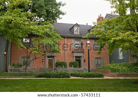 Exclusive Townhouse Condos - stock photo