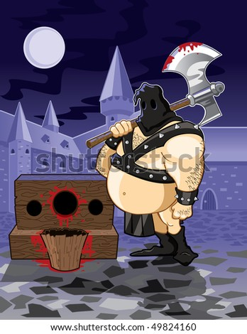 Executioner - stock photo