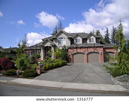 Executive Home - stock photo