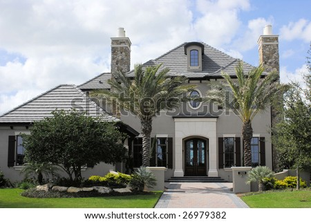 Executive home in country club located in florida
