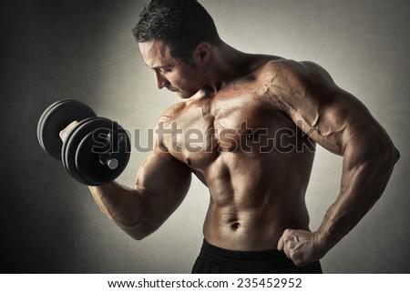 Exercise  - stock photo