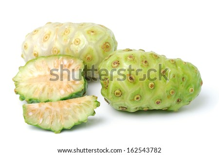 Exotic Fruit - Noni on white