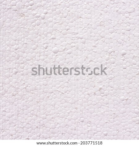 expanded polystyrene foam plastic texture