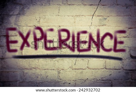 Experience Concept - stock photo