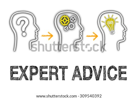 Expert Advice - Business Concept - stock photo