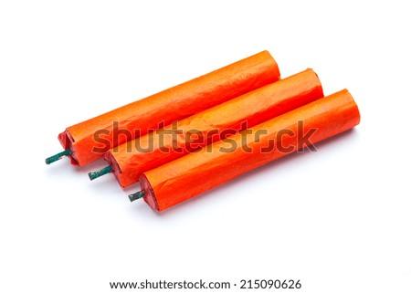 Explosive tnt dynamite stock photo