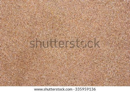 Exposed aggregate finish. - stock photo