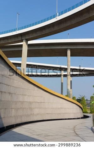 Expressway - stock photo