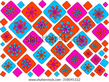 Seamless Colorful Islamic Pattern Background Stock Vector 282289706 Shutterstock