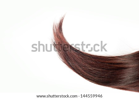 extend hair - stock photo