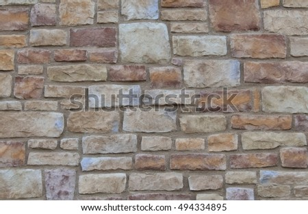 Exterior Buildings and Structures. Textures and Patterns of  Brick, Wood, Tile, and Stone,