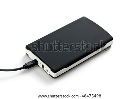 external hard disc - stock photo