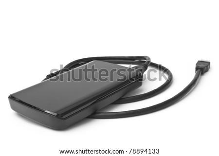 External hard drive - stock photo