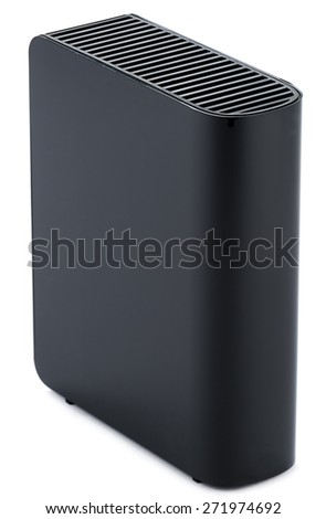 External HDD  Hard Disk Drive - stock photo