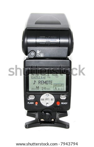 External Remote Flash Unit