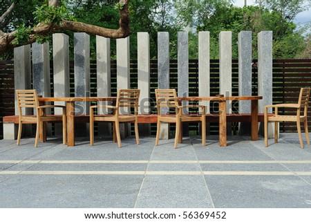 External Restaurant - stock photo
