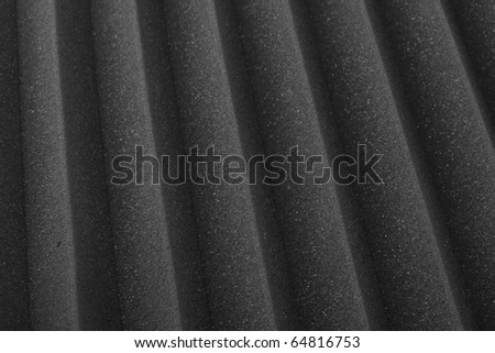 extreme closeup of a acoustic foam texture - stock photo