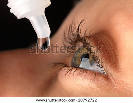 Eyedroppers. Closeup view. Very high resolution. - stock photo