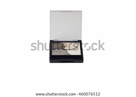 eyeshadow isolated on a white background