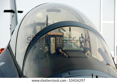 F16 Head - stock photo