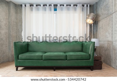 Fabric Green Sofa In Living Room Part 62