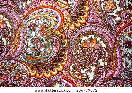 fabric pattern - stock photo