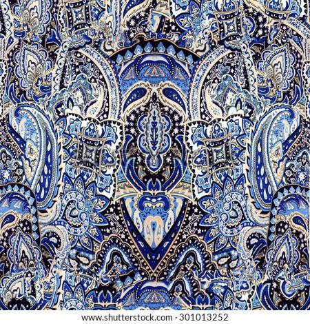fabric pattern modified - stock photo