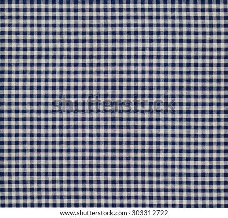 Fabric plaid texture. Cloth background - stock photo