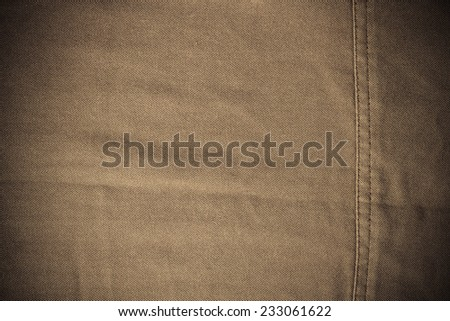 Fabric surface is beautiful. Close up of fabric with a detailed skin. - stock photo