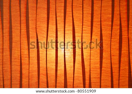 Fabric surface with light behind - stock photo