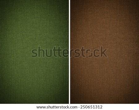 fabric texture background, set - stock photo