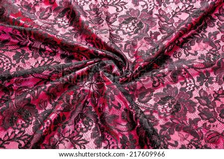 Fabric texture closeup - stock photo