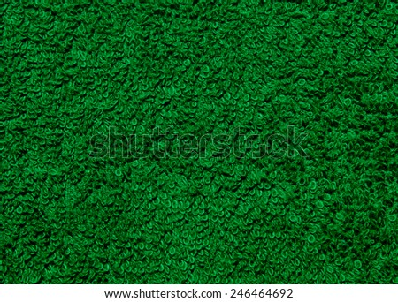 fabric texture green style of grass - stock photo