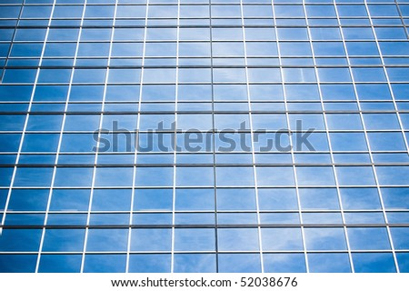 facade building glass background