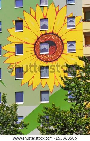 Facade Painting - stock photo