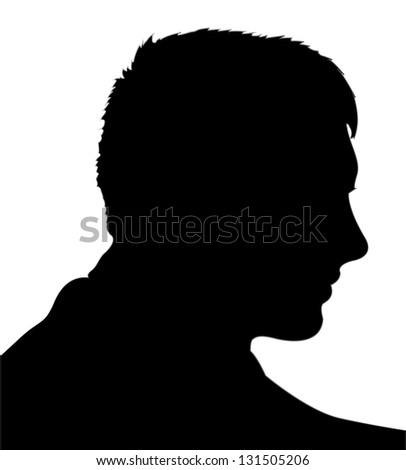 Face. Its a raster version. Vector search in my portfolio. - stock photo