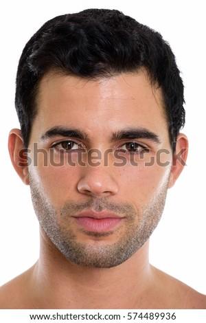 hispanic nude man