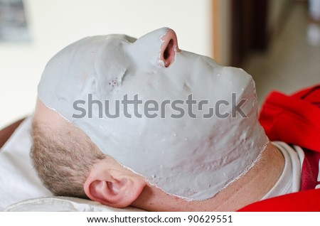 Facial mask for man