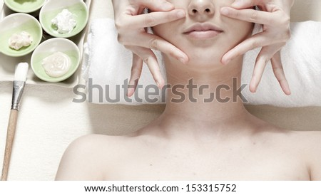 Facial Spa - stock photo