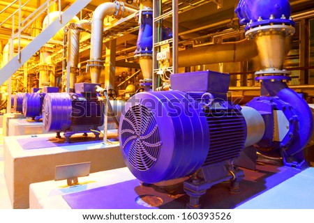 Factory equipment - stock photo