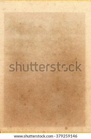 Faded old paper texture - stock photo