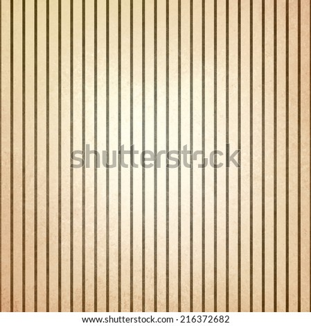 faded vintage brown and beige striped background, shabby chic line design element on distressed texture, old pinstripe pattern background - stock photo