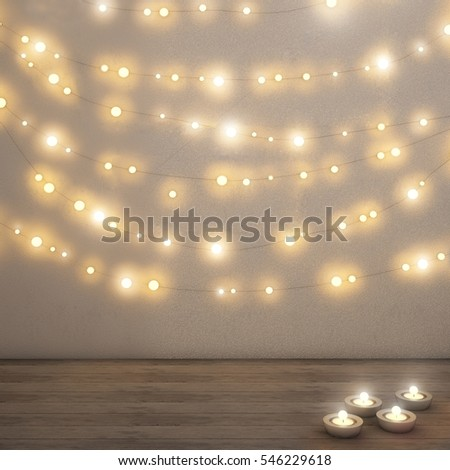 Fairy lights on wall card back stock photo 100 legal protection fairy lights on wall card back stock photo 100 legal protection 546229618 shutterstock aloadofball Image collections