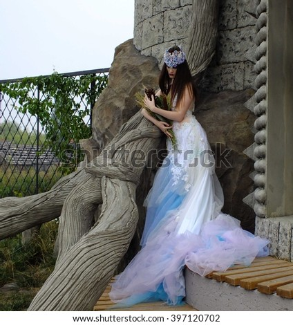 fairy queen - stock photo